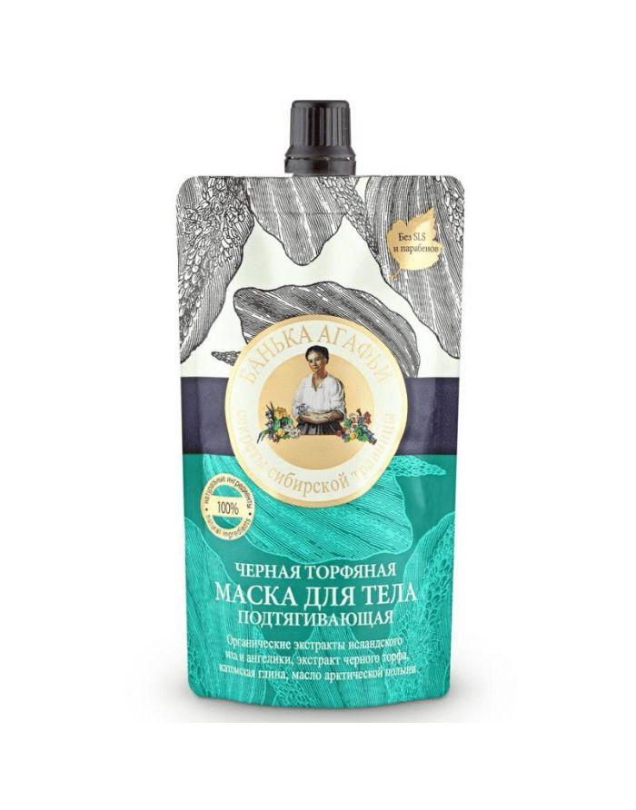 Agafia's Bania Body Mask Black Peat Lifting 100ml