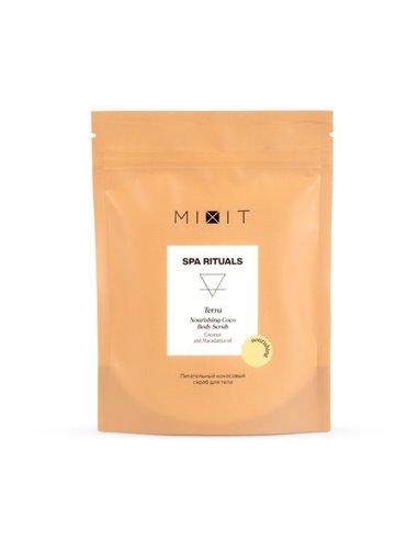 MIXIT Питательный кокосовый скраб для тела 200г