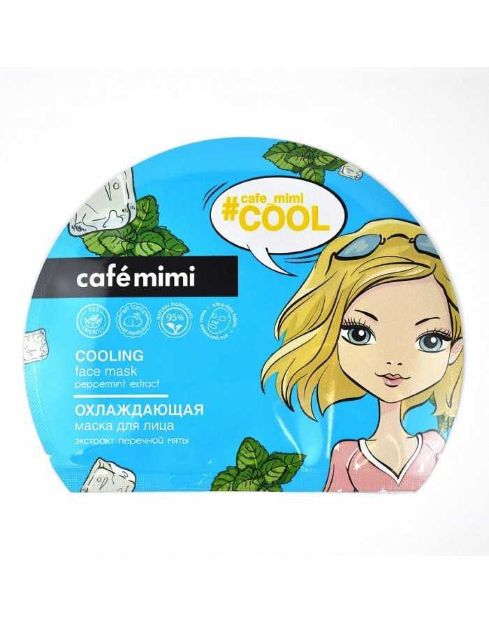 cafe mimi Охлаждающая тканевая маска для лица 22г