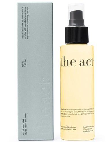 The Act Detoxifying massage body oil 100ml