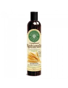 Compliment Naturalis Shampoo for hair strength and volume Horse keratin and wheat proteins 335ml