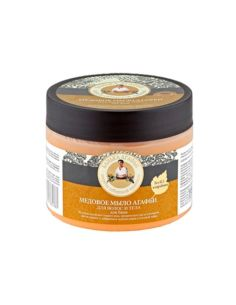 Agafia's Bania Honey soap for hair & body 300ml