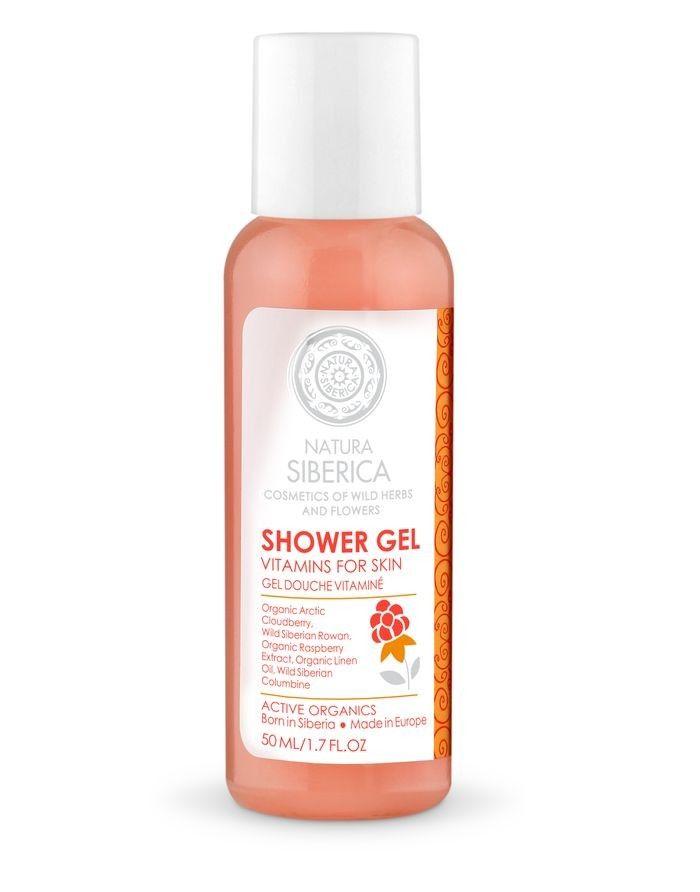 Natura Siberica Shower Gel Vitamins for Skin 50ml