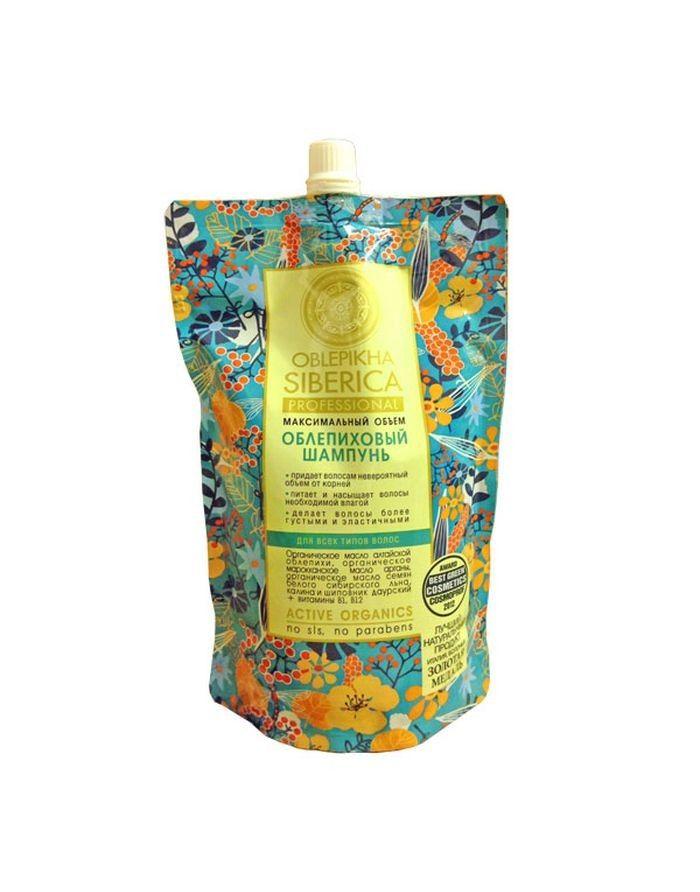 Natura Siberica Oblepikha Shampoo Maximum Volume 500ml