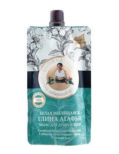 Agafia's Bania White Soap Clay for hair & body 100ml