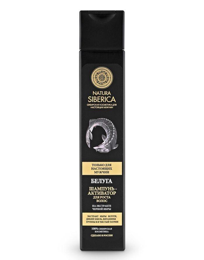 Natura Siberica Men Beluga Shampoo-Activator Against Hair Loss 250ml