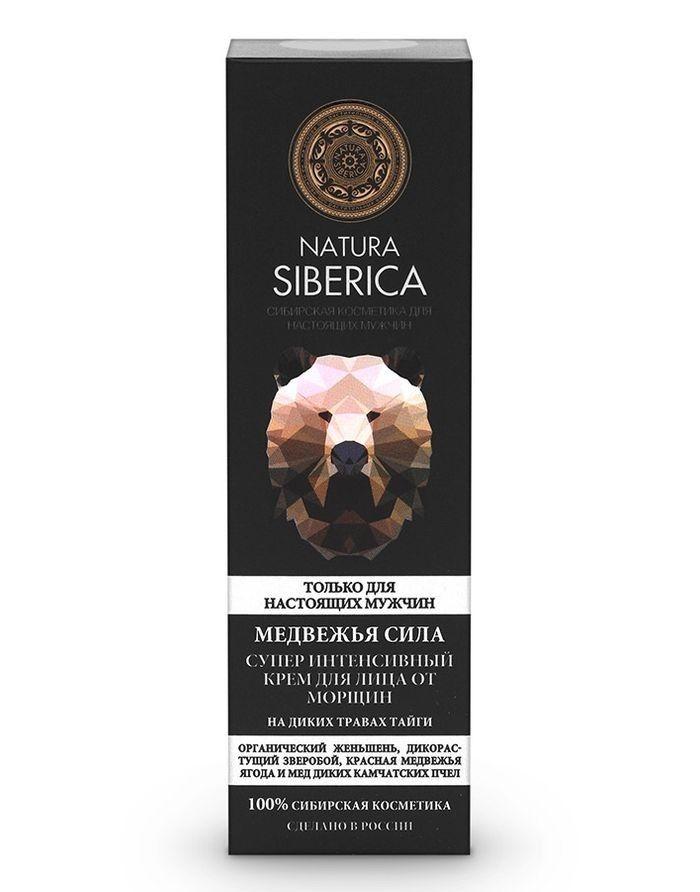 Natura Siberica Men Крем от морщин Медвежья сила 50мл