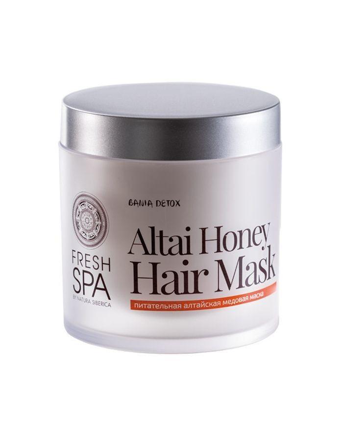 Natura Siberica Fresh Spa Bania Detox Маска для волос питательная алтайская 400мл