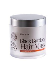 Natura Siberica Fresh Spa Bania Detox Чёрная репейная маска для волос 400мл