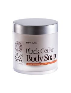 Natura Siberica Fresh Spa Bania Detox Чёрное кедровое мыло для тела 400мл