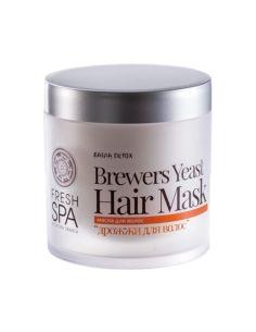 Natura Siberica Fresh Spa Bania Detox Маска для волос Дрожжи для волос 400мл