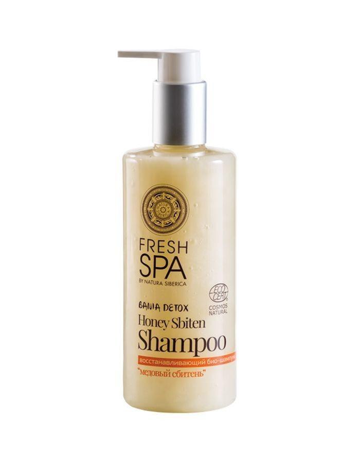 Natura Siberica Fresh Spa Bania Detox Honey Sbiten Shampoo 300ml