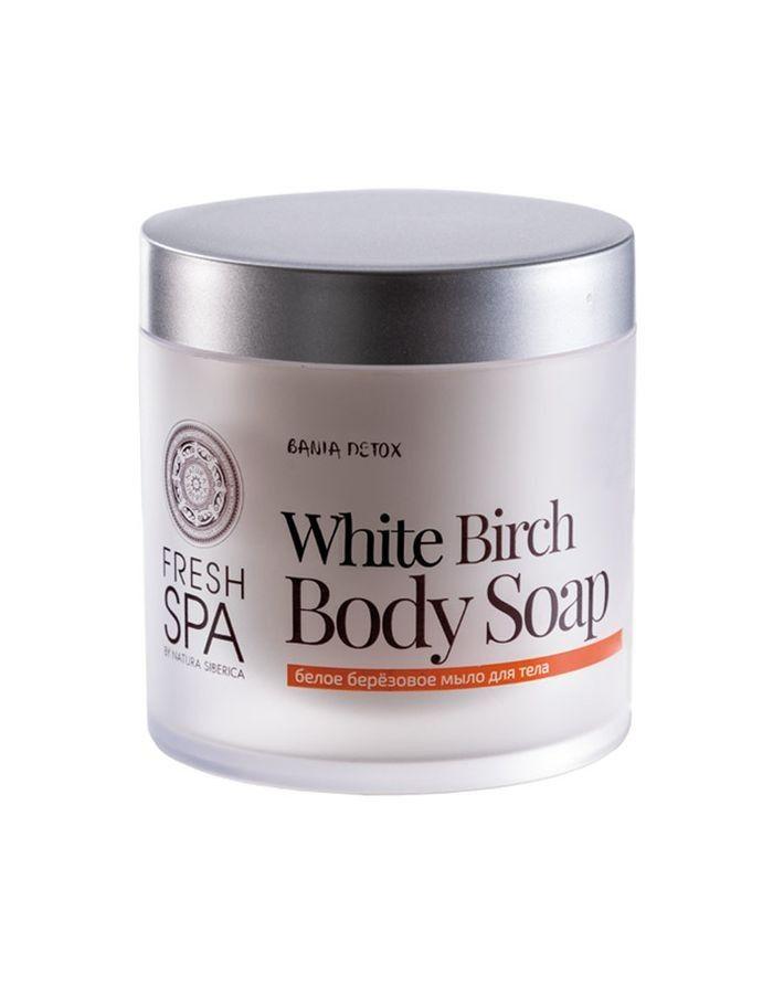 Natura Siberica Fresh Spa Bania Detox Белое березовое мыло для тела 400мл