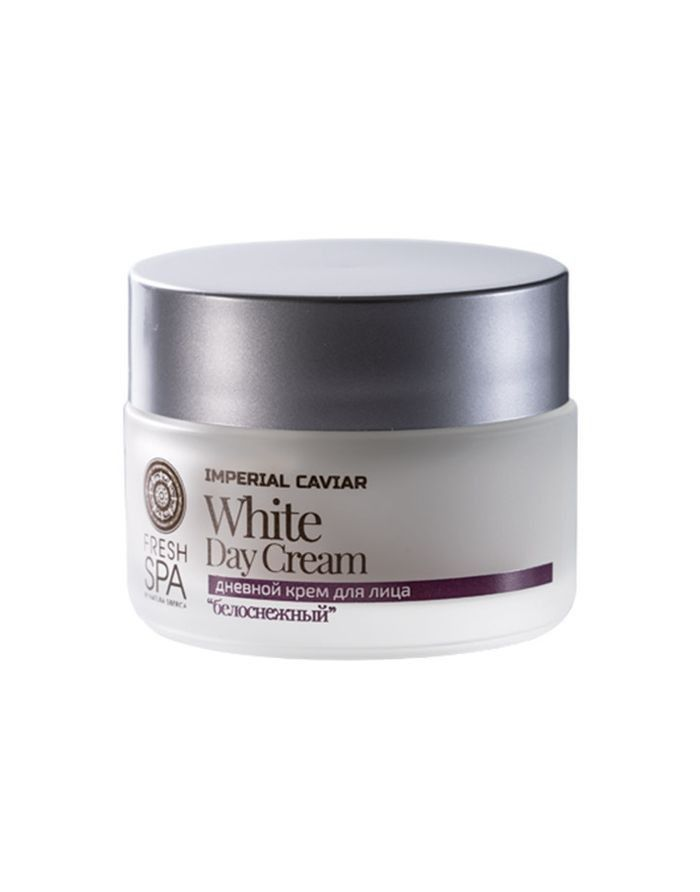 Natura Siberica Fresh Spa Imperial Caviar Rejuvenating White Day Cream 50ml
