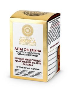 Natura Siberica Laboratoria Altai Oblepikha Youth Boosting Night Cream-Moisturizer 50ml