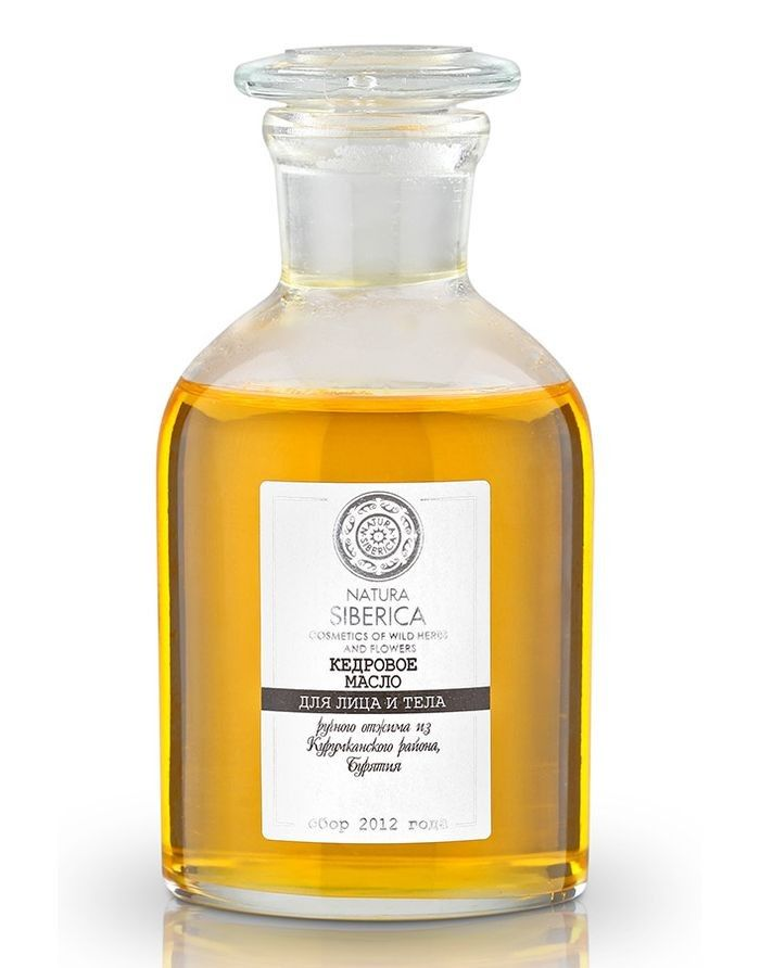 Natura Siberica Exclusive Кедровое масло ручного отжима из Курумканского района, Бурятия 125мл