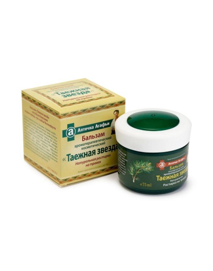 Agafia's Aromatherapy Rubbing Taiga Star 75ml