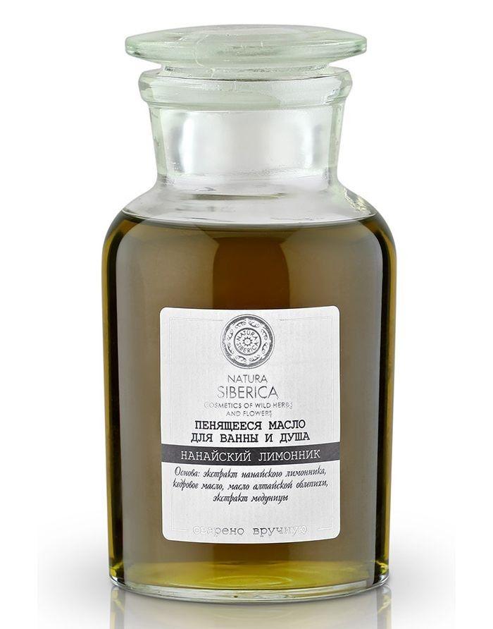 Natura Siberica Exclusive Пенящееся масло для ванны и душа Нанайский лимонник 250мл