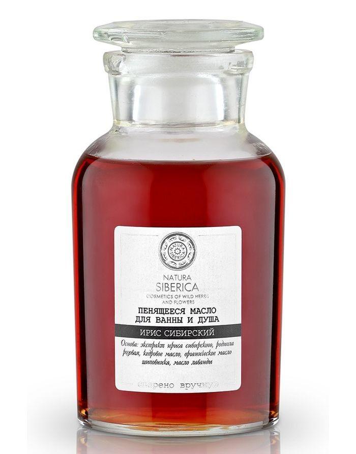 Natura Siberica Exclusive Пенящееся масло для ванны и душа Ирис Сибирский 250мл