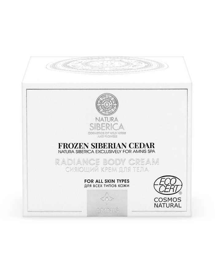 Natura Siberica Exclusively for Amnis Spa Radiance Body Cream 120ml