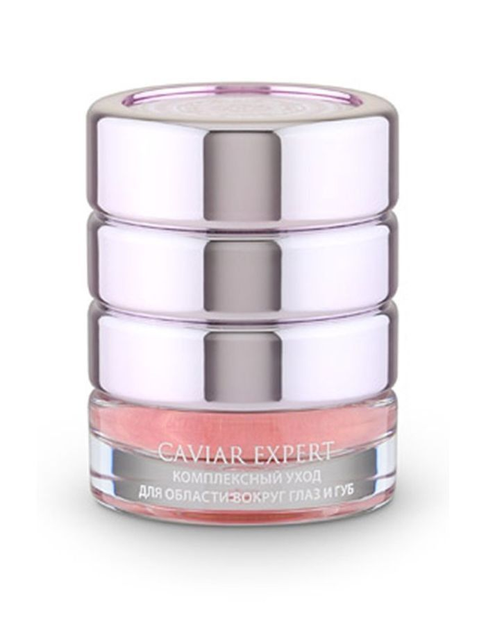 Natura Siberica Caviar Expert Comprehensive Care for Eyes and Lips 3-In-1 Anti-Age