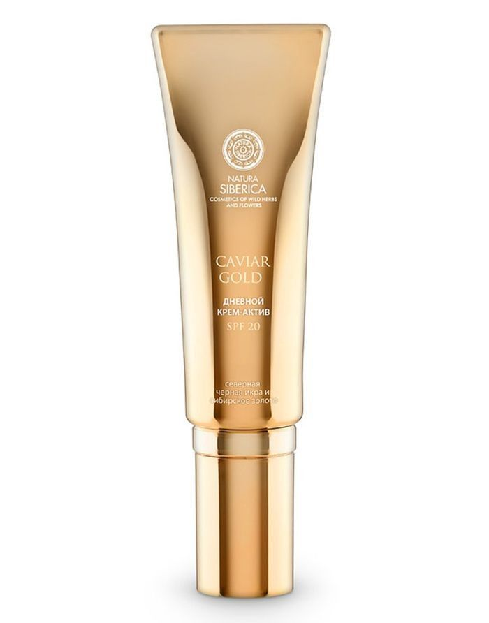 Natura Siberica Caviar Gold Active Day Face Cream Youth Injection SPF20 30ml