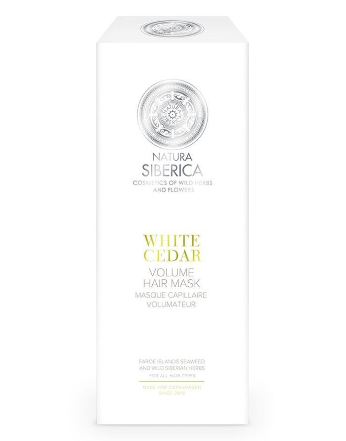 Natura Siberica Copenhagen Volume Hair Mask White Cedar 200ml