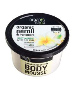 Organic Shop Body Mousse Bali Flowers 250ml