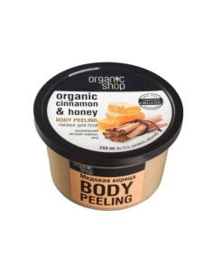 Organic Shop Body Scrub Honey Cinnamon 250ml
