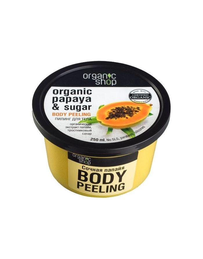 Organic Shop Body Scrub Juicy Papaya & Sugar 250ml