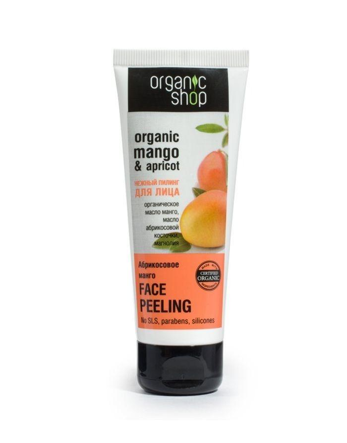 Organic Shop Gentle Peeling Apricot Mango 75ml