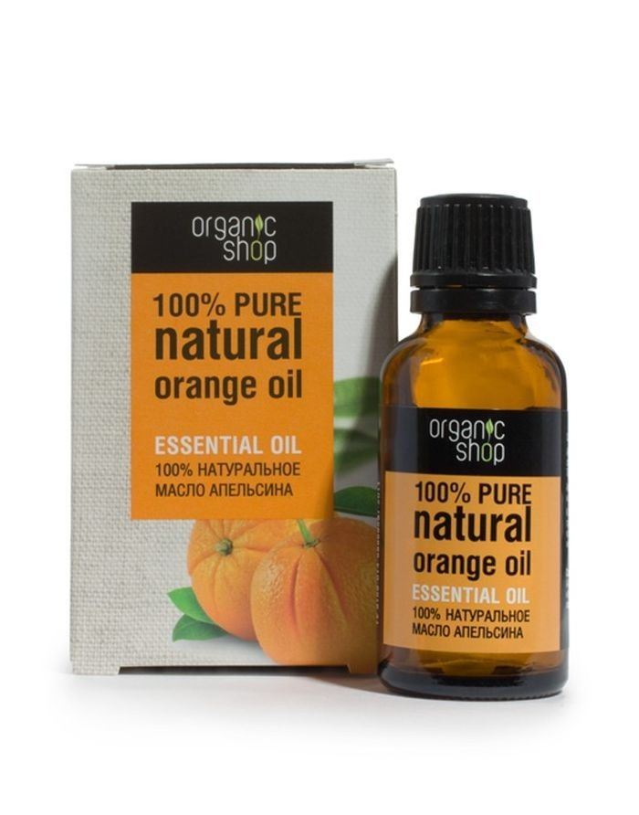 Organic Shop Orange Essential Oil 30ml