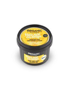 Organic Shop Organic Kitchen Золотой гель для волос и тела Наглое солнце 100мл