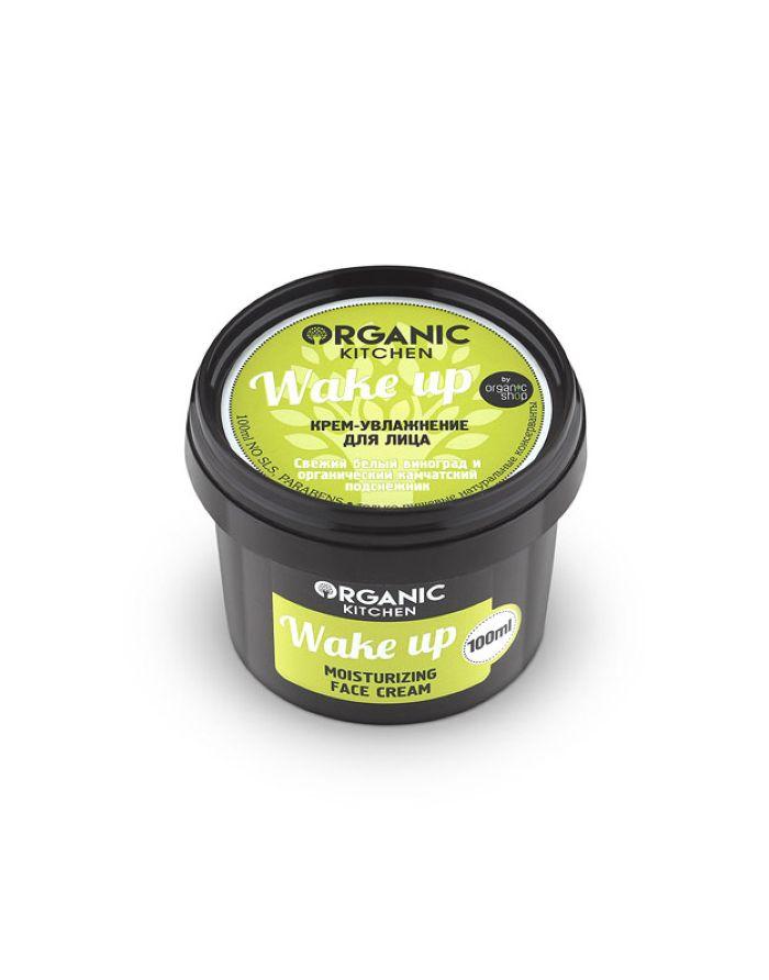 Organic Shop Organic Kitchen Крем-увлажнение для лица Wake up 100мл