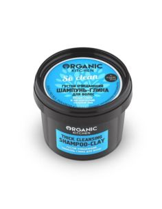 Organic Shop Organic Kitchen Шампунь-глина для волос густой очищающий So clean 100мл