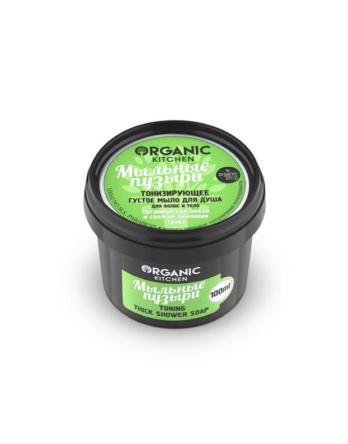 Organic Shop Organic Kitchen Toning Thick Shower Soap 100ml
