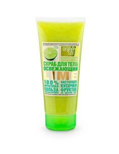 Organic Shop REFRESHING LIME Body Scrub 200ml