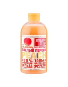 Organic Shop RIPE PEACH Shower gel 500ml