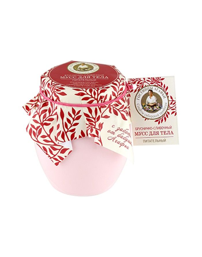 Agafia's Presents Body Mousse Cranberry-Creamy 250ml