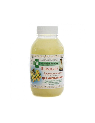 Агафья Шампунь дерматологический для жирных волос 300мл