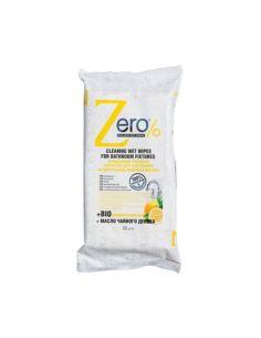 Zero Cleaning Wet Wipes for Bathroom Fixtures 40pcs