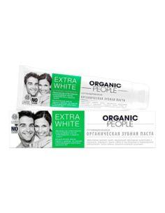 Organic People Зубная паста Extra White 100мл