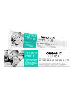 Organic People Toothpaste Zoom 3 White 100ml