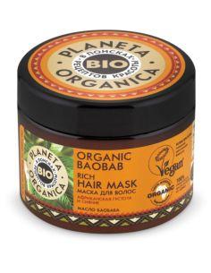 Planeta Organica Organic Baobab Маска для волос 300мл