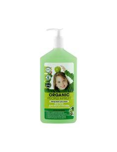 Organic People & Fruit Эко гель для мытья посуды с органическими зеленым яблоком и киви 500мл