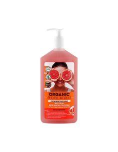 Organic People & Fruit Эко гель для мытья посуды с органическим розовым грейпфрутом 500мл