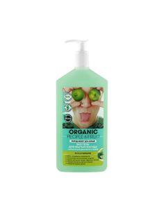 Organic People & Fruit Эко гель для мытья посуды с органической дикой мятой и лаймом 500мл