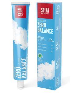 Splat Special ZERO BALANCE Гипоаллергенная зубная паста без фтора для защиты от кариеса и чистоты дыхания 75мл