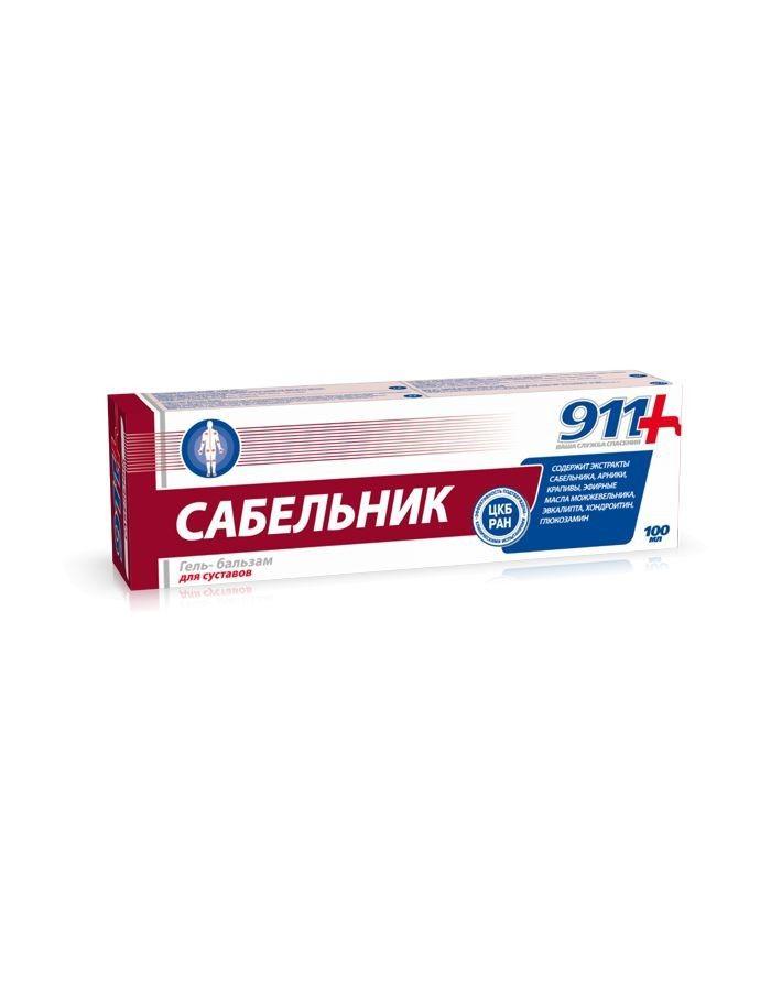 911 SABELNIK Gel-balm for joints 100ml