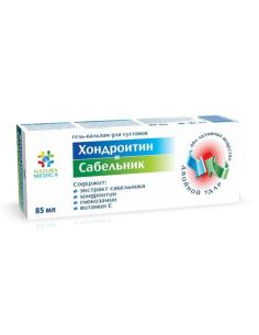 Natura Medica Gel-balm for joints CHONDROITIN & SABELNIK 85ml